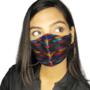Banarasi Multicolor face mask - shopicorn.in