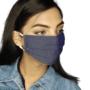 Denim Face Mask - Navy blue