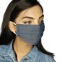 Denim Face Mask - Gray (Unisex) - shopicorn.in